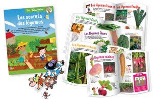 Huit pages pour découvrir plein de légumes pour mieux les manger !