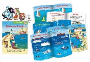 Un grand dossier pour apprendre à reconnaître tous les bateaux