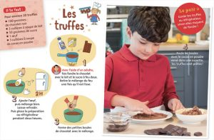 "Téléchargez ""5 recettes chocolatées"", Youpi, n° 351, décembre 2017. Conception et textes : Pablo Thiollier-Serrano. Photos : Philippe Ughetto. Illustrations : Marion Piffaretti."