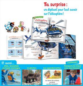Un dépliant pour tout savoir sur l'hélicoptère - Youpi n°340 - Janvier 2017