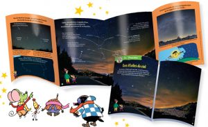Un super dépliant pour apprendre à reconnaître les étoiles en hiver - Youpi n°315 - décembre 2014