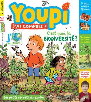 Couverture du magazine Youpi, j'ai compris ! n°307, avril 2014