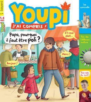 Couverture du magazine Youpi, j'ai compris ! n°314, novembre 2014