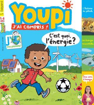 Couverture du magazine Youpi, j'ai compris ! n°319, avril 2015