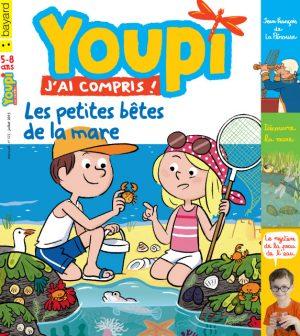 Couverture du magazine Youpi, j'ai compris ! n°322, juillet 2015