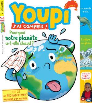 Couverture du magazine Youpi, j'ai compris ! n°327, décembre 2015