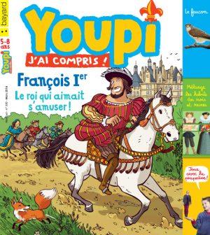 Couverture du magazine Youpi, j'ai compris ! n°330, mars 2016