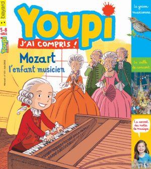 Couverture du magazine Youpi, j'ai compris ! n°333, juin 2016