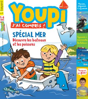 Couverture du magazine Youpi, j'ai compris ! n°334, juillet 2016