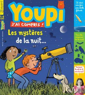 Couverture du magazine Youpi, j'ai compris ! n°335, août 2016