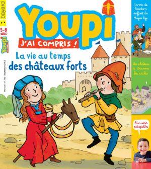 Couverture du magazine Youpi, j'ai compris ! n°336, septembre 2016