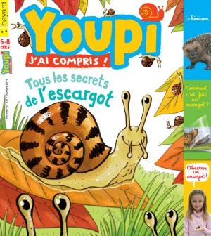 Couverture du magazine Youpi, j'ai compris ! n°337, octobre 2016
