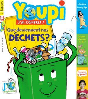 Couverture du magazine Youpi, j'ai compris ! n°343, avril 2017