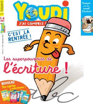 Couverture du magazine Youpi, j'ai compris ! n°348, septembre 2017