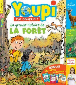 Couverture du magazine Youpi, j'ai compris ! n°350, novembre 2017