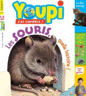 Couverture du magazine Youpi, j'ai compris ! n°354, mars 2018
