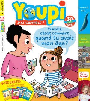Couverture du magazine Youpi, j'ai compris ! n°361, octobre 2018