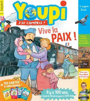 Couverture du magazine Youpi, j'ai compris ! n°362, novembre 2018