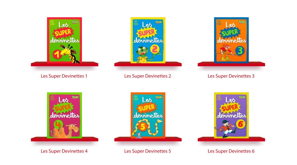 J'aime lire Store – Les super devinettes Youpi (disponible iPhone, iPad, Mac et PC)