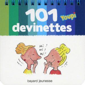 couverture '101 devinettes Youpi'