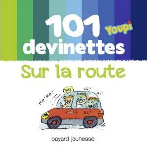 couverture '101 devinettes Youpi - Sur la route'