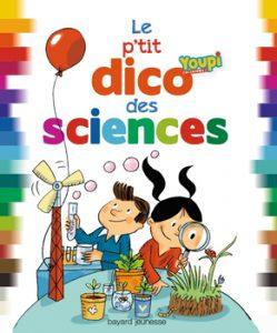 couverture 'Le p'tit dico Youpi des sciences'
