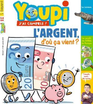 Couverture du magazine Youpi, j'ai compris ! n°364, janvier 2019