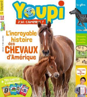 Couverture du magazine Youpi, j'ai compris ! n°366, mars 2019