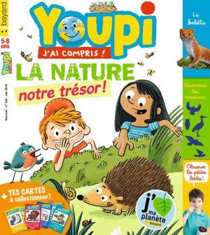 Couverture du magazine Youpi, j'ai compris ! n°368, mai 2019