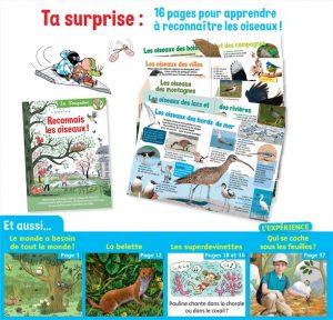 Youpi, mai 2019 - Youpidoc, 16 pages pour apprendre à reconnaître les oiseaux!