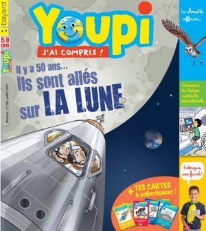 Couverture du magazine Youpi, j'ai compris ! n°370, juillet 2019