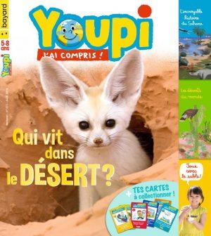 Couverture du magazine Youpi, j'ai compris ! n°371, août 2019