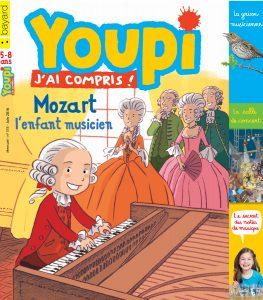 couverture du magazine Youpi de juin 2016