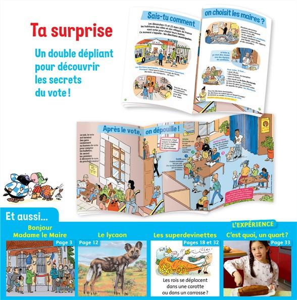 Sommaire du magazine Youpi, j'ai compris ! n°378, mars 2020 - Spécial élections – À quoi servent les maires ?