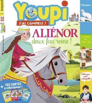 Youpi, j'ai compris ! n°388, janvier 2021 - Aliénor deux fois reine !
