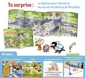 Youpi, j'ai compris ! n°396, septembre 2021 - Louis XIV, l'enfant roi ! - Un dépliant pour découvrir les secrets du château de Versailles