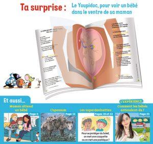 Sommaire de Youpi, j'ai compris ! n°397, octobre 2021 - Maman attend un bébé - Le Youpidoc, pour voir un bébé dans le ventre de sa maman